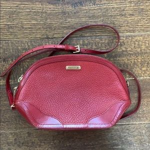 Burberry Grainy Leather Orchard Crossbody Bag